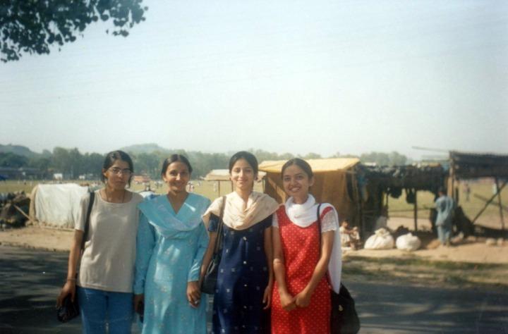 Sonia ,Sonika, Shweta and Me
