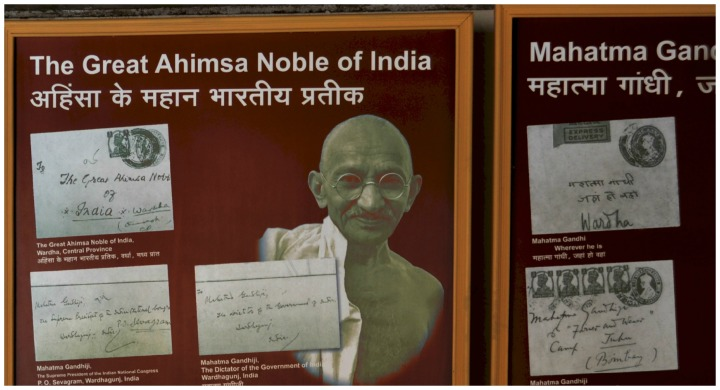 Letters to Gandhiji- With Wonderful Addresses ( I esp. like the - Gandhiji, Wherever you are)