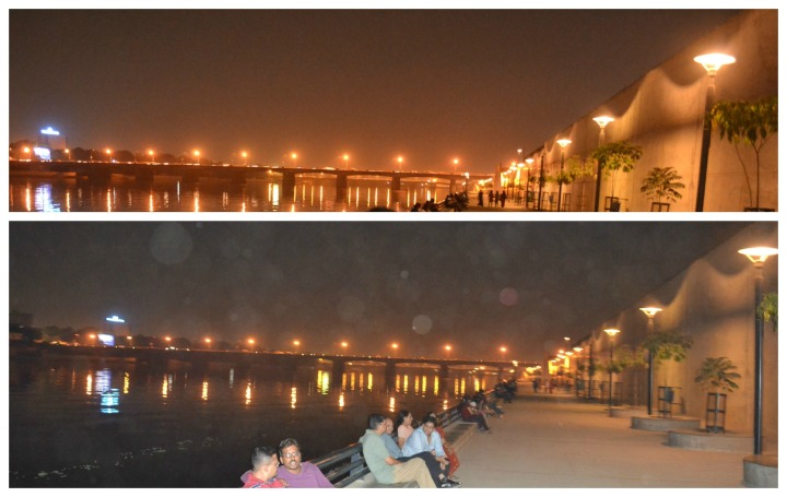 The Pomenade on the banks of the Sabarmati, Ahmedabad