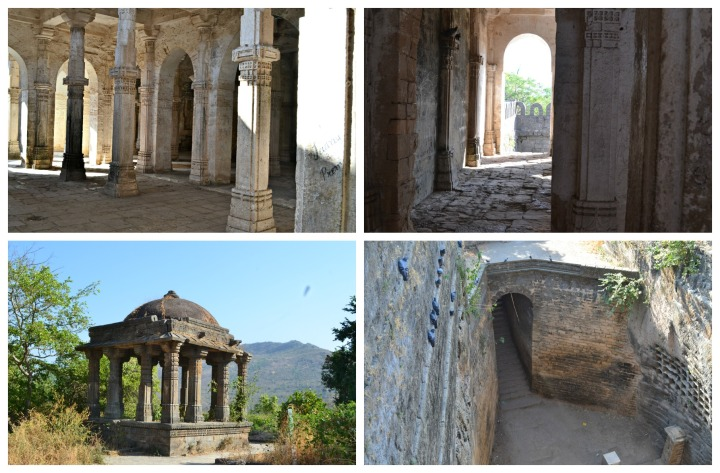 Uparkot Fort - Enthralling tales; The last is the picture of the step well that provided water during the 12 year siege