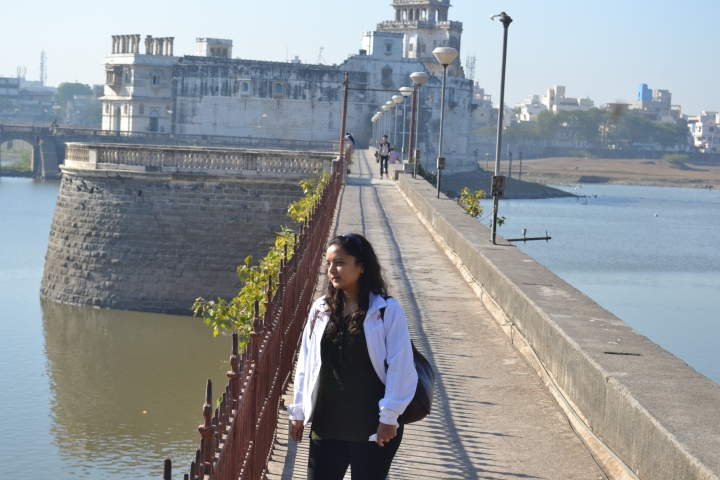 Jamnagar Museum - The Entrance through these Bridges