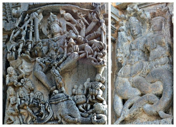 Lord Shiva and Nagas