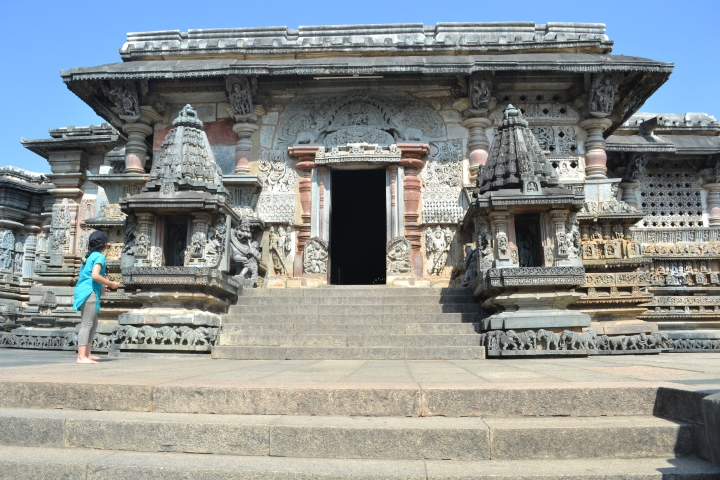 The Main Temple - Belur
