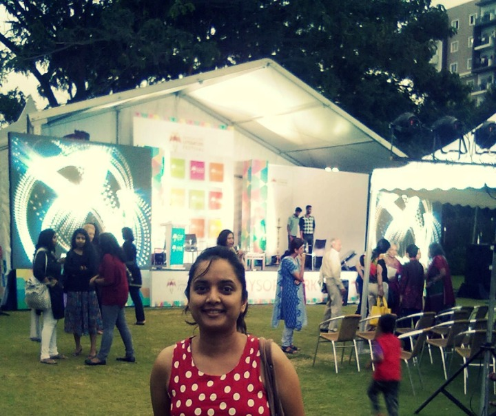 Happy at the Bangalore Literature Festival 2013